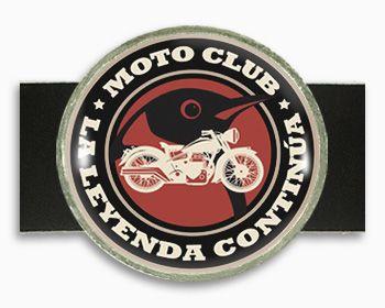 Hebillas redondas metálicas para personalizar con foto impresión a todo color.